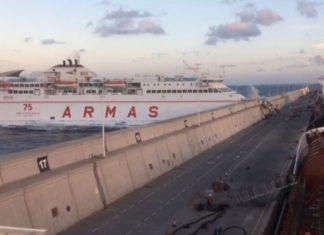 incidente Ferry Las Palmas