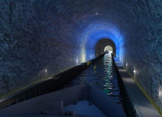 Stad ship tunnel, il tunnel navale norvegese