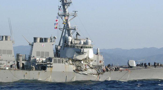 incidente USS Fitzgerald