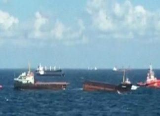 nave spezzata Turchia