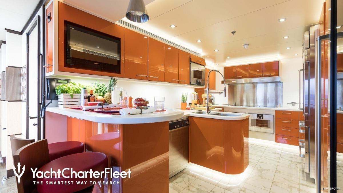 Cucina Yacht Khalilah