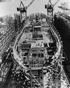 Cantiere Liberty Ship giorno 10