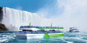Turismo ad emissioni zero alle cascate del Niagara