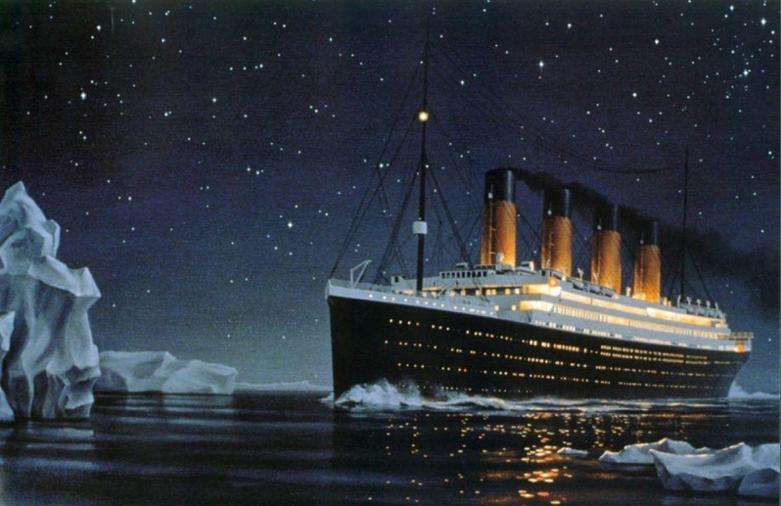 Incidente del Titanic sarebbe stato evitato con una progettazione corretta della manovrabilità