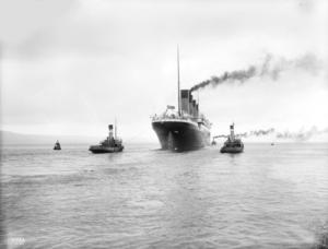 Manovrabilità del Titanic alle prove a mare