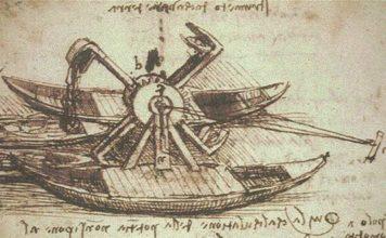 Copertina articolo, draga di Leonardo da Vinci