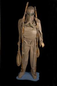 Modello dello scafandro di Leonardo da Vinci