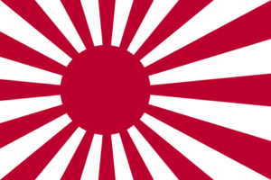 Bandiera flotta giapponese