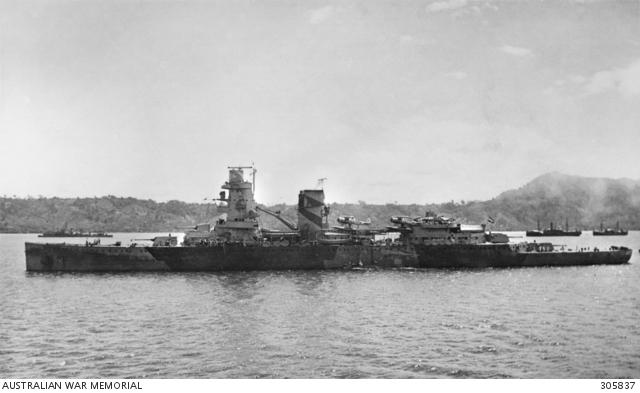 Foto dell'incrociatore HNLMS De Ruyter