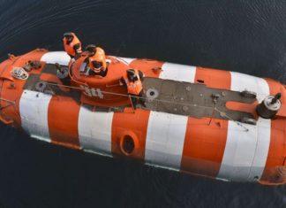 Sottomarino impiegato per il salvataggio