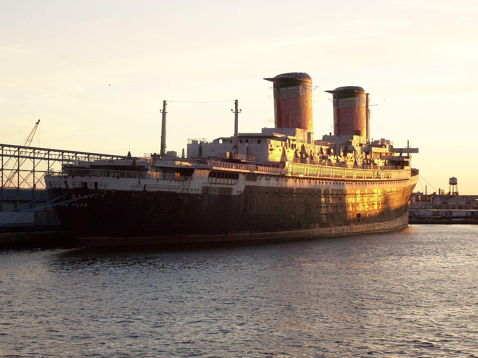 Foto del transatlantico SS United State