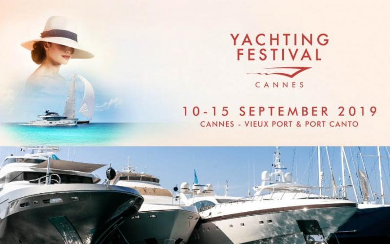 Salone nautico di Cannes 2019. La locandina