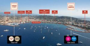 Cannes yachting festival. Mappa del nuovo salone nautico 2019