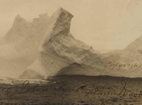Iceberg Titanic foto