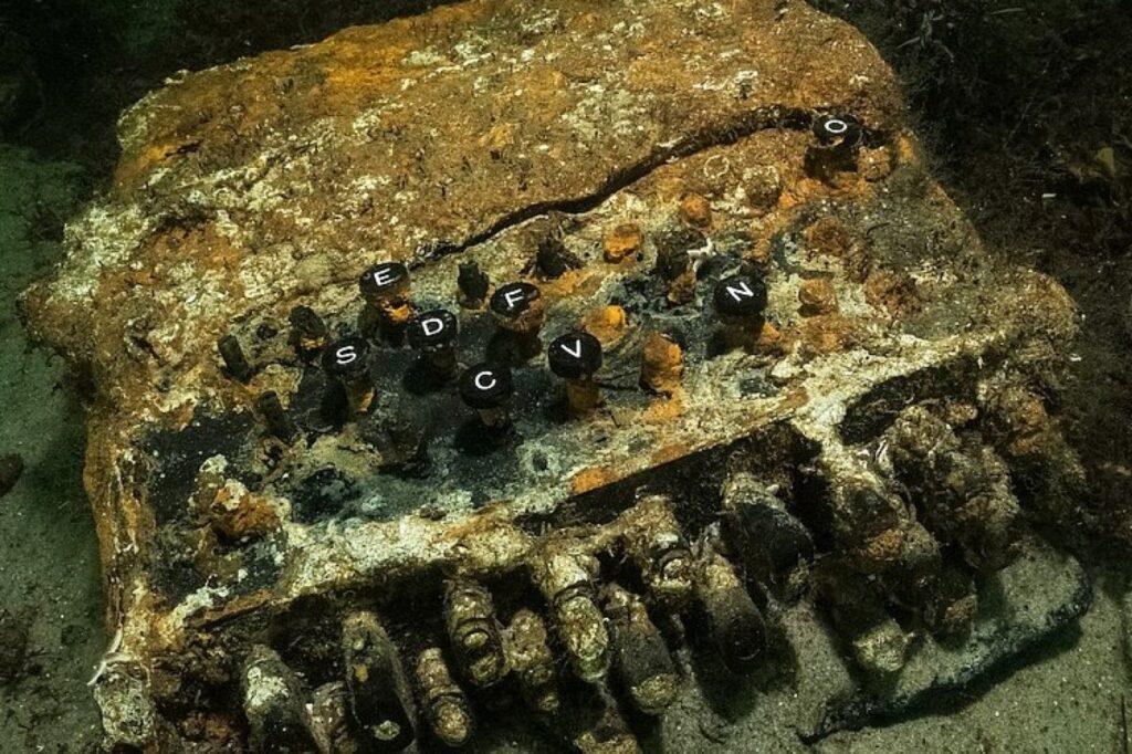 Macchina Enigma Mar Baltico