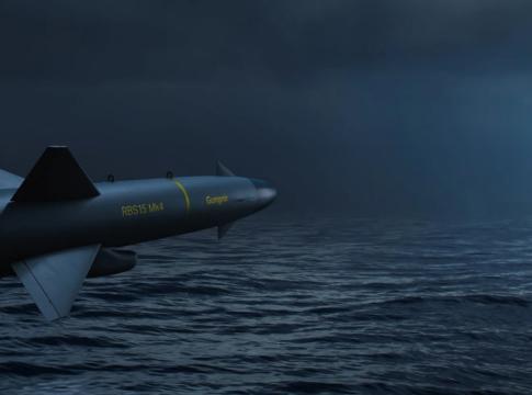 Missile RBS 15 Gungnir Credits: Saab