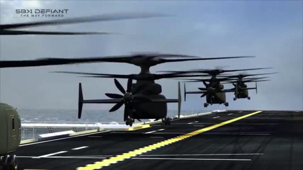 US Navy SB Defiant