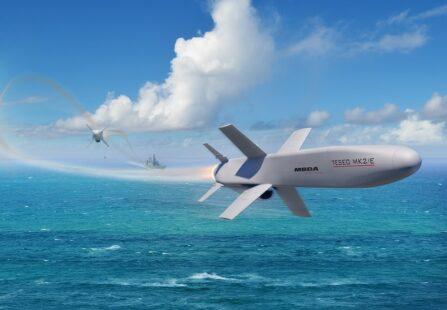 Il missile Teseo MK2/E: una nuova arma per la Marina Militare Italiana