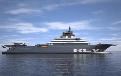 Rev Ocean: lo yacht più grande al mondo con il compito di ripulire il mare