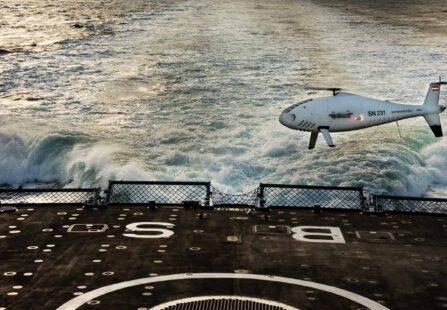 Camcopter S-100: la nuova frontiera della sorveglianza marina