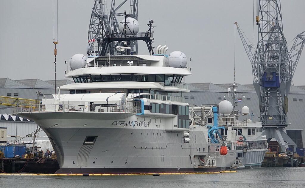 nave esplorazione scientifica OceanXplorer