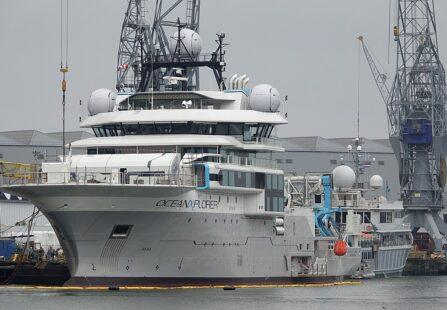 Esplorazione scientifica, tra mega yacht e le navi da ricerca