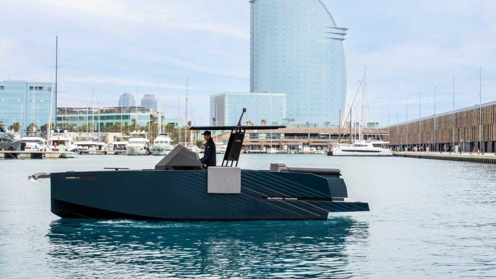 Cupra Formentor yacht