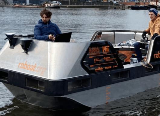 Ad Amsterdam arriva il primo prototipo di barca elettrica senza conducente