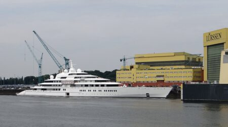 Lo yacht Azzam: un record dal valore di 500 milioni di euro