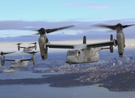 USMC MV-22B Osprey e la guerra elettronica della US NAVY
