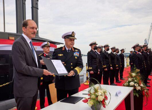 Quarto sottomarino per la Marina egiziana direttamente dalla Germania
