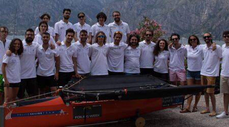 Il Polito Sailing Team vincitore della SuMoth Challenge alla Foiling Week