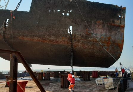 Berkan B: La fine dell'epopea è arrivata, grazie al nuovo porto di ravenna