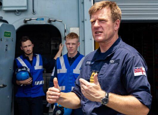 Il nuovo First Sea Lord per la Royal Navy è Sir Ben Key